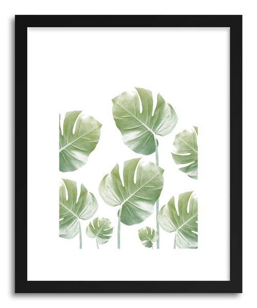 Fine art print Monstera RisIng by artist Rui Faria