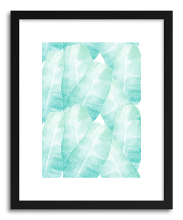 Fine art print Banana Leaves by artist Rui Faria
