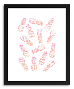 Fine art print PInk PIneapples by artist Rui Faria