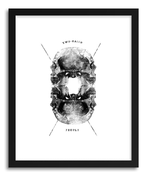 Fine art print Two Faced People by artist Rui Faria