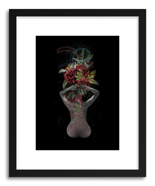 Fine art print Embosed Vase by artist Tania Amrein