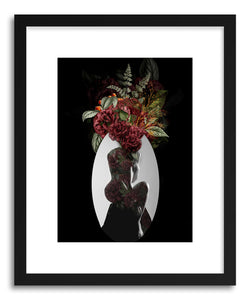 Fine art print Red Flowers by artist Tania Amrein