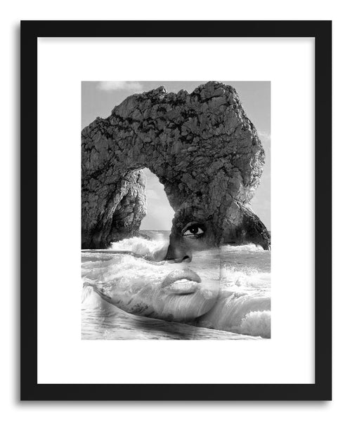 Fine art print AgaInst the Sea by artist Tania Amrein