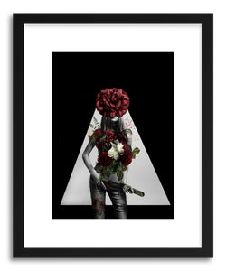 hide - Art Print SprIng Lady by artist Tania Amrein on fine art paper