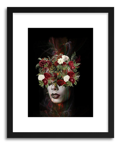 Fine art print Flower Lady by artist Tania Amrein