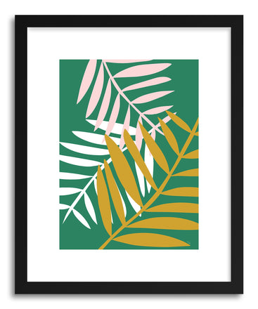 Fine art print Palm Leaves by artist Linda Gobeta