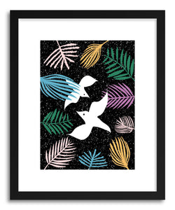 Fine art print Birds of Paradise by artist Linda Gobeta