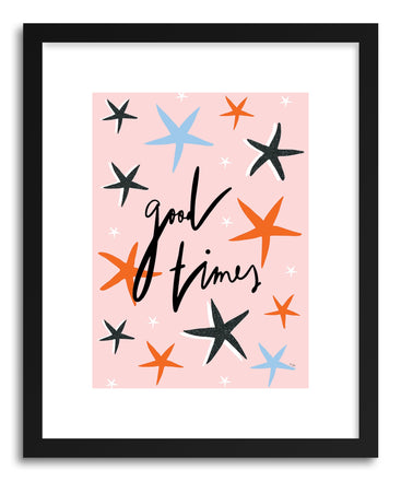 Fine art print Good Times by artist Linda Gobeta