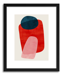 hide - Art Print Onus by artist Tracie Andrews in white frame