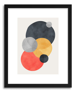 hide - Art Print Sphera by artist Tracie Andrews in white frame