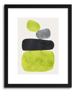 hide - Art Print Balance IV by artist Tracie Andrews in white frame
