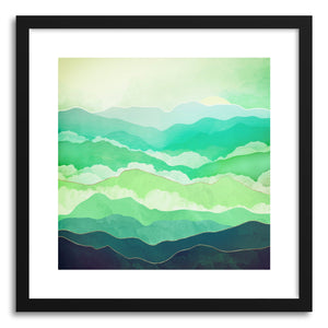 Art print Emerald Spring by artist Spacefrog Designs