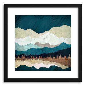 Art print Fall Forest Night by artist Spacefrog Designs