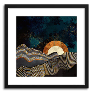 Art print Gold and Silver Fields by artist Spacefrog Designs
