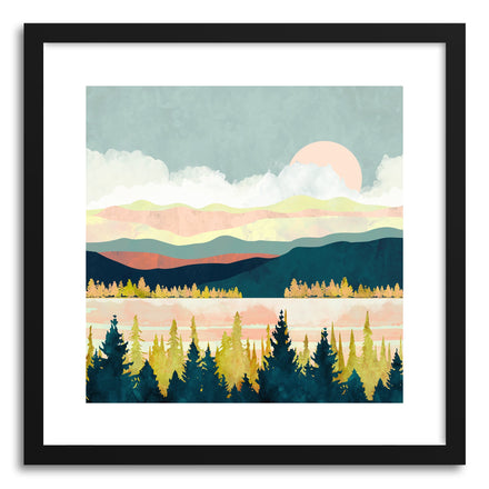Art print Lake Forest by artist Spacefrog Designs