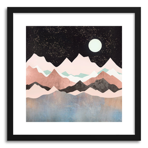 Art print Midnight Stars by artist Spacefrog Designs