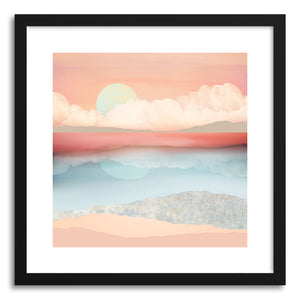 Art print Mint Moon Beach by artist Spacefrog Designs