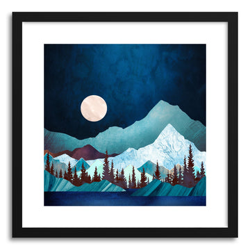Art print Moon Bay by artist Spacefrog Designs