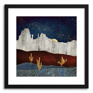 Art print Moonlit Desert by artist Spacefrog Designs