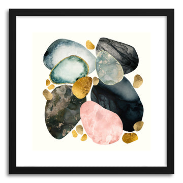 Art print Pebble Abstract by artist Spacefrog Designs