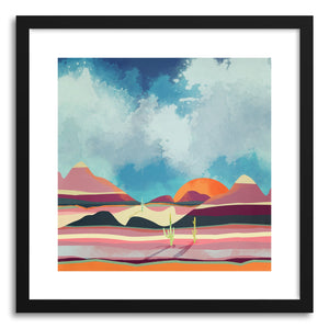 Art print Pink Desert Glow by artist Spacefrog Designs