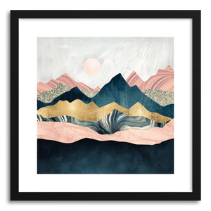 hide - Art print Plush Peaks by artist Spacefrog Designs on fine art paper