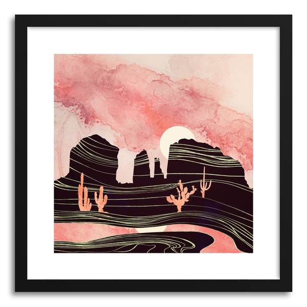 Art print Rose Desert by artist Spacefrog Designs