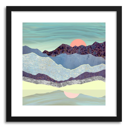 Art print Summer Dawn by artist Spacefrog Designs