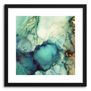 hide - Art print Teal Abstract by artist Spacefrog Designs on fine art paper