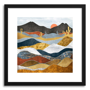 Art print Desert Cold by artist Spacefrog Designs