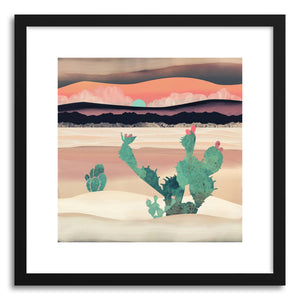 Art print Desert Dawn by artist Spacefrog Designs