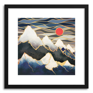 Art print Glacial Mountains by artist Spacefrog Designs