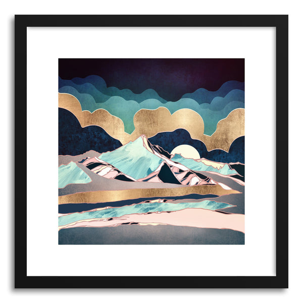 Art print Indigo Spring by artist Spacefrog Designs