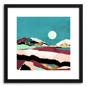 Art print Teal Sky by artist Spacefrog Designs