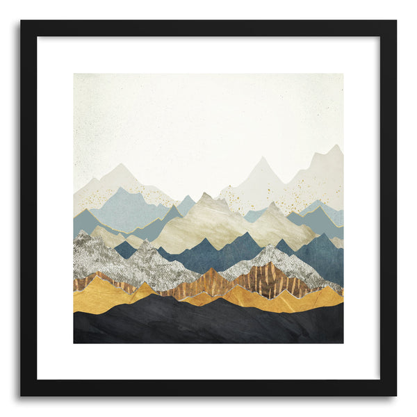 Art print Distant Peaks by artist Spacefrog Designs