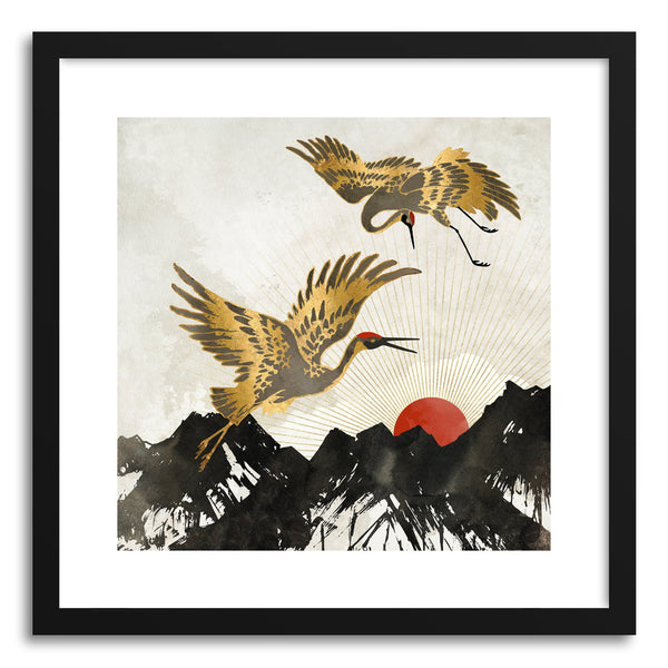 Art print Elegant Flight II by artist Spacefrog Designs