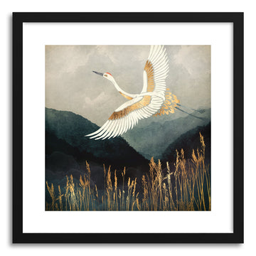 Art print Elegant Flight by artist Spacefrog Designs