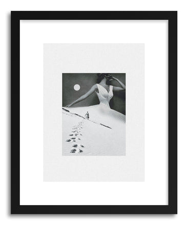 Art print I Keep Walking If You Don't Reach Out by artist Maarten Leon