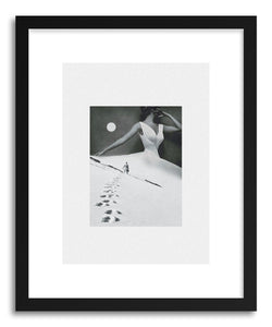 hide - Art print I Keep Walking If You Don't Reach Out by artist Maarten Leon on fine art paper