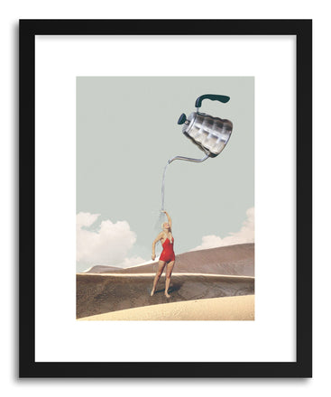 Art print Stay Hydrated by artist Maarten Leon