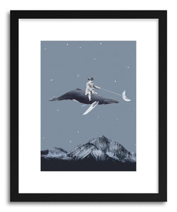 Art print Aim For The Moon by artist Maarten Leon