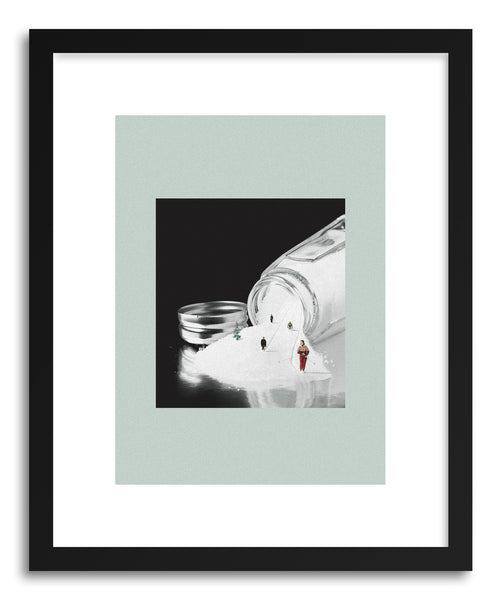 Art print Stay Salty by artist Maarten Leon