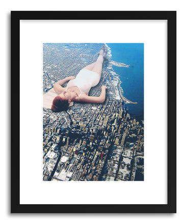 Art print Summer In The City by artist Maarten Leon