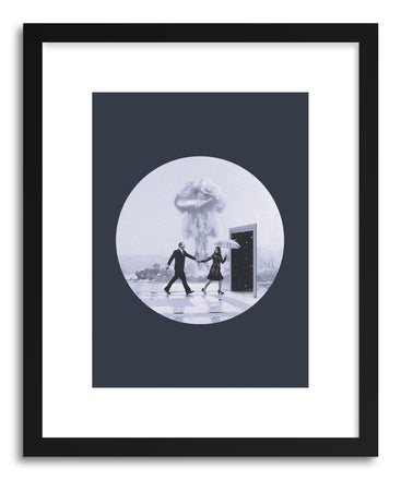 Art print Time To Leave by artist Maarten Leon