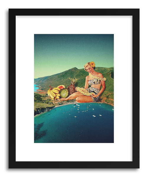 Art print Warm Welcome by artist Maarten Leon