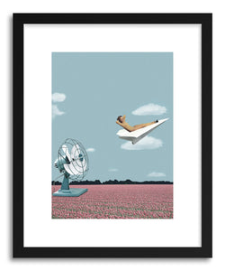 Art print Where The Wind Takes Me by artist Maarten Leon