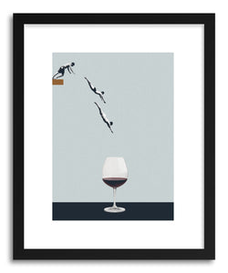 Art print Your Best Friends Forget You Get Old by artist Maarten Leon