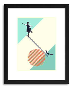 Art print B Is For Balance by artist Maarten Leon