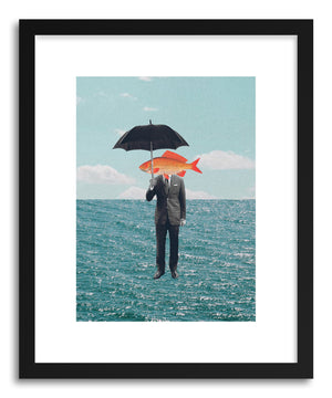 Art print Can't Get Wet by artist Maarten Leon
