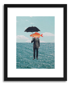 hide - Art print Can't Get Wet by artist Maarten Leon on fine art paper